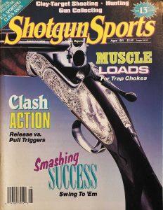 Cover Shotgun Sports August 1991